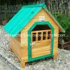 Festes Wood Waterproof Dog Kennel für amerikanisches Courtyard