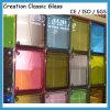 4mm-8mmの青銅によって染められるガラス、青いフロートガラス、ピンクのフロートガラス