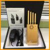 Handheld Anti-Tracking приспособление GPS с 4 антенной - Handheld 4 Jammer сигнала мобильного телефона GPS 3G антенн 3W