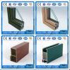 Profil en aluminium d'extrusion de l'extrusion 6063 de porte en aluminium fraîche en aluminium de couleur