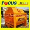 Máquina de mistura concreta da produtividade elevada, misturador concreto do funil Js2000
