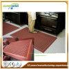 Garagem antiderrapante da anti fatiga porosa/esteiras de borracha do assoalho drenagem da oficina