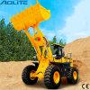 ブランドのAoliteの地球のバケツが付いている移動構築機械装置5tonの車輪のローダー