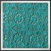 Cordón bordado flor regular del bordado del guipur del cordón