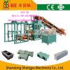 Alta qualidade automática cheia da máquina de fatura de tijolo Qt4-20 da cavidade do cimento máquina de fatura de tijolo concreta maquinaria do tijolo do baixo preço