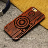 Cas en bois à haute teneur de téléphone mobile pour l'iPhone 7