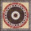 Tegel 1200X1200mm van de Vloer van het Kristal van het Tapijt van het Patroon van de bloem Tegel Opgepoetste Ceramische (BMP18)
