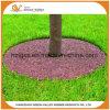 Paillis coloré en gros de boucle d'arbre en caoutchouc pour le jardin