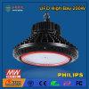 luz al aire libre de la bahía del UFO LED de 200W IP44 alta