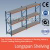 Metal resistente del almacenaje del almacén de Longspan que deja de lado 200-800 kilogramos Udl/llano