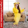 Unisex пижамы Onesie шаржа Pikachu животные
