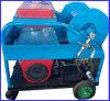 Máquina de alta presión del producto de limpieza de discos del tubo de desagüe de la alcantarilla del producto de limpieza de discos del motor de gasolina