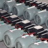 moteur asynchrone à C.A. Electirc des doubles condensateurs 0.5-3.8HP monophasés pour l'usage de machine de rizerie, usine directe, affaire