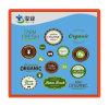 Стикер фермы свежий  или «органический»