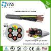 Kabel van de Controle van pvc h05vv5-F van de olie de Bestand Elektro