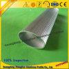 Profil en aluminium personnalisé de tube de garde-robe pour la garde-robe