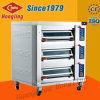 Коммерчески печь профессионала оборудования 3-Deck хлебопекарни Infra электрическая с Ce