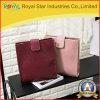 Rote Farben-Quadrat-einfache und elegante Frauen-Beutel-Form-Leder-Handtasche