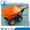 250kgs車輪駆動機構の堆肥のトラックKd250