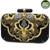 La rétro broderie de sac à main d'usager de femmes de type conçoit le sac d'embrayage de soirée Eb763