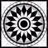 Tegel 1200X1200mm van de Vloer van het Kristal van het Tapijt van het Patroon van de bloem Tegel Opgepoetste Ceramische (BMP51)