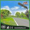 Bewertung 40W alle des heißer Verkaufs-integrierte Solarbewegungs-Fühler-Licht-IP67 in einem Solarstraßenlaterneohne Polen