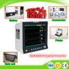 Monitor paciente médico parâmetro durável do equipamento médico Sun-600k do multi