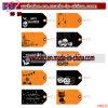 Tag plástico do presente de Halloween do Tag da etiqueta do Tag do Tag conhecido (H8132)