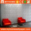 텔레비젼 배경 벽 사무실을%s 장식적인 순수한 플라스틱 PVC 3D 벽면