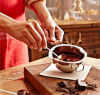 304ステンレス鋼チョコレート人種や文化などのるつぼのベーキングは水暖房の溶ける人種や文化などのるつぼのバターチーズ溶けるボールに用具を使う