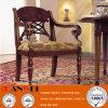 Cadeira de jantar de madeira sólida de jantar antiga