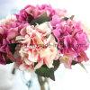Fleur artificielle de vente chaude de Hydrangea de 10 couleurs (SW07353)