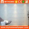 Papier peint à la maison du vinyle 3D de PVC d'allumeur de panneau de mur de décoration