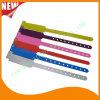 Vendas llanas promocionales de los Wristbands de la pulsera de la identificación del plástico del hospital (8020B6)
