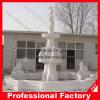 Каменный мраморный высекая мраморный фонтан воды (WF017)