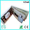 cartões video do anúncio de tela de 2.4  2.8  4.3  5  7  10.1  IPS da polegada
