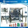Máquina de enchimento de engarrafamento automática do frasco de petróleo do motor do lubrificante da elevada precisão