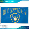Polyester Milwaukee Brewers Glove Retro-Style Official MLB Baseball 3 ' x5 Flag