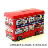 London Bus Tea Caja de estaño y caja de estaño de banco