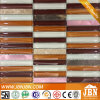ショッピングMall Wall Long Strip AluminumおよびGlass Mosaic (M859002)