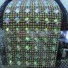Ab 색깔 큰 돌 24 줄 수정같은 모조 다이아몬드 사슬 트리밍