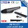 Éclairage LED Chaud-Sale Bar de CREE de Straight 100W avec l'objectif d'Optic