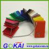 Feuille acrylique en couleur claire et couleur