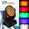 36 * Lighting 15W RGBWA 5in1 Zoom Wash LED Disco