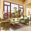 Bestes verkaufendes thermischer Bruch-Aluminiumflügelfenster-Neigung-Drehung-Fenster (FT-W80)