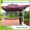Grand parasol extérieur personnalisé de jardin s'arrêtant de Sun