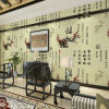Papier peint mural de PVC Chine de conception de Chinoiserie pour la décoration à la maison