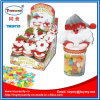 キャンデーの容器が付いているXmasのクリスマスのサンタクロースのおもちゃ