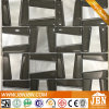 壁(M855145)のための任意形、ガラスモザイクおよびアルミニウム
