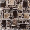 Dekoratives Kristallglas-Mischungs-Stein-Mosaik